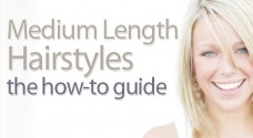 Medium Length Hairstyles - the how-to guide