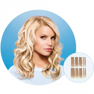Hairdo Jessica Simpson Human Hair 10pc Clip-In Hair Extension