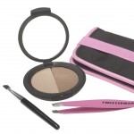 Tweezerman Mini Brow Kit With Powder