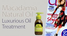 Macadamia Natural Oil Luxurious Oil Treatment seen in CLEO magazine