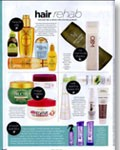 Macadamia Natural Oil Luxurious Oil Treatment seen in Cleo, March 2012