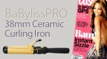 BaBylissPRO 38mm Curling Tong seen in Cosmopolitan Magazine