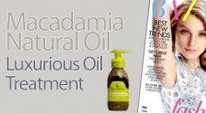 Macadamia Natural Oil Treatment seen in Harper&#039;s Bazaar