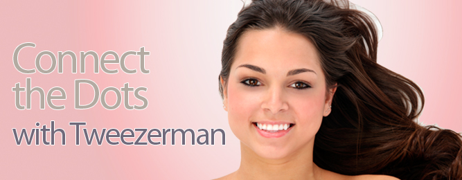 Introducing the new Tweezerman Ombre Hot For Dots Mini Slant Tweezer