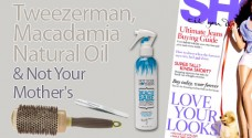 Tweezerman, Macadamia Natural Oil &amp; Not Your Mothers seen in Shop Til You Drop