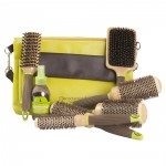 Macadamia Natural Oil Professional Hair Brush Kit