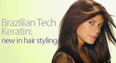 Brazilian Tech Keratin: new in hair styling