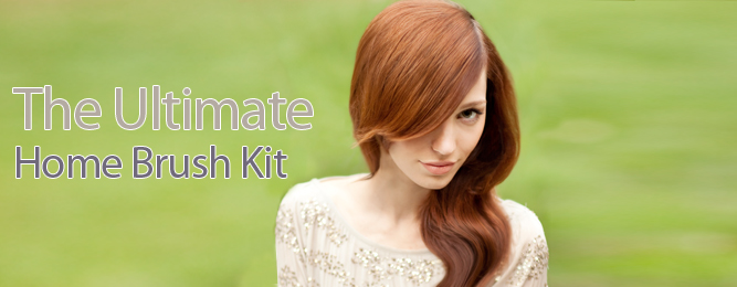 The Ultimate Home Brush Kit from Macadamia Natural Oil
