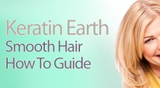 Keratin Earth hair Straightening and Smoothing System from i-glamour.com
