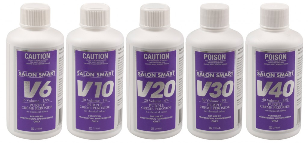 Salon Smart Purple Creme Hair Peroxide