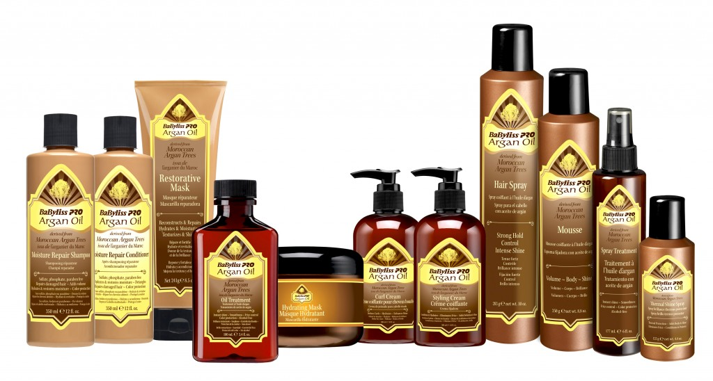 Argan Oil by BaBylissPRO Professional Hair Care Range