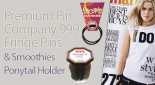 Premium Pin Company 999 seen in Marie Claire