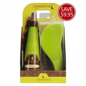 Macadamia Natural Oil No Tangle Pre Styling Set