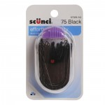 Scunci Effortless Beauty Black Bobby Pins, 75pk