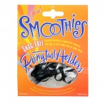 Smoothies Snag-Free 4mm Ponytail Holders - 24pk