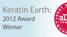 Keratin Earth: Allure Best of Beauty 2012 Winner
