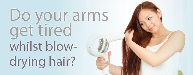 No more sore arms! Meet the new ETI Hair Dryer at i-glamour
