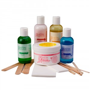 Satin Smooth Cream N Honey Microwaveable Waxing Kit