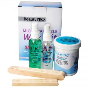 BeautyPRO Microwavable Wax Kit - Hard Wax