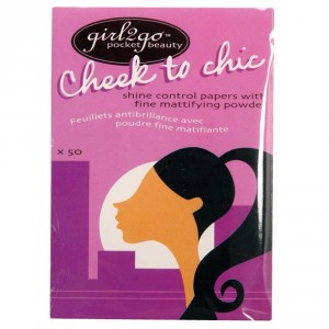 Girl 2 Go Cheek To Chic Shine Control Papers