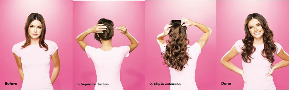 Hairdo Clip In Hair Extensions