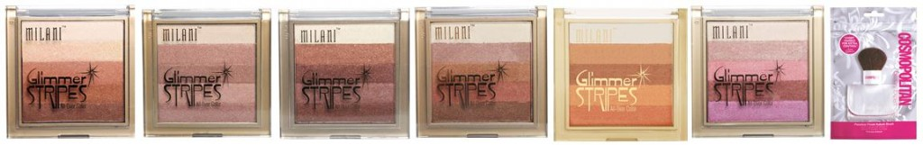 Milani Glimmer Stripes All Over Colour Make Up