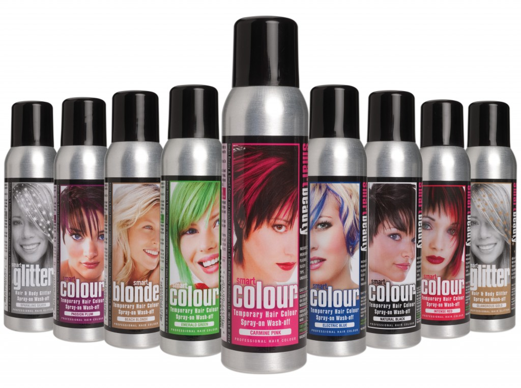 Smart Colour Temporary Hairsprays Instant Colour Change