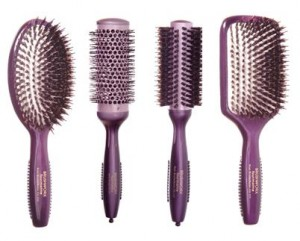 Brushworx Tourmaline Hair Brush Collection