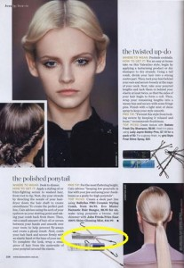 Parlux, BaBylissPRO, Premium Pin Co. 999 seen in Marie Claire