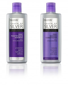PRO:VOKE Touch Of Silver Daily Maintenance Shampoo and Nourishing Conditioner