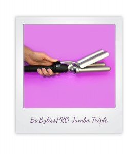 BaBylissPRO Jumbo Ceramic Triple Barrel Waver Curling Iron from i-glamour