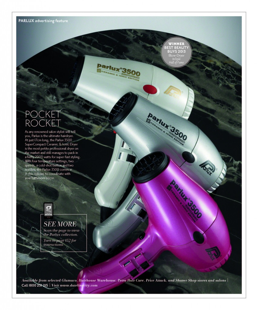 Winner & Hall of Fame InStyle Best Beauty Buys 2013: Parlux 3500 Hair Dryer