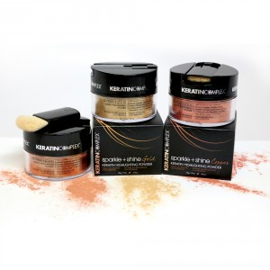 Keratin Complex Sparkle + Shine Highlighting Hair Powders from i-glamour