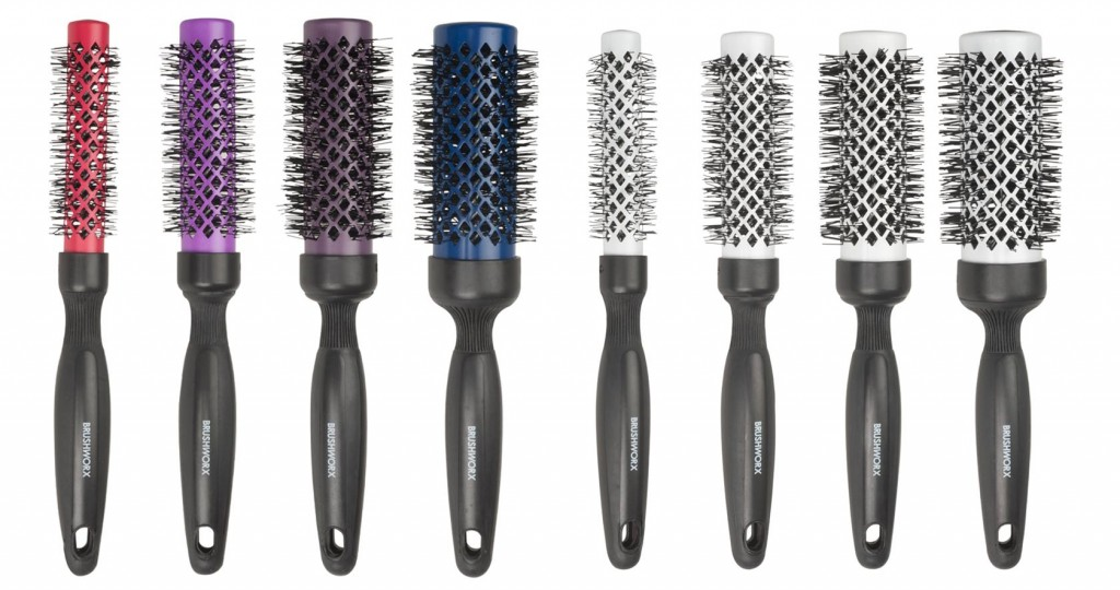Brushworx Ceramic 4 piece Hot Tube Brush Sets from i-glamour