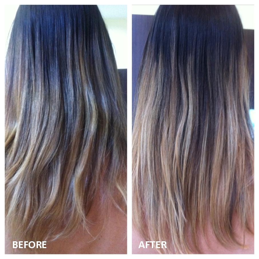 Malibu C Blondes Hair Treatment from i-glamour - before and after