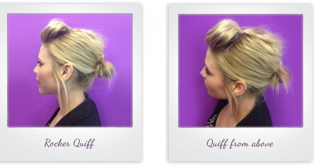 How To: Create a 5 Minute Messy Quiff from i-glamour