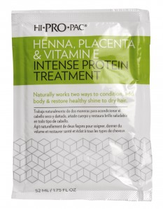 Hi Pro Pac Henna, Placenta, Vitamin E Intense Protein Hair Treatment from i-glamour.com