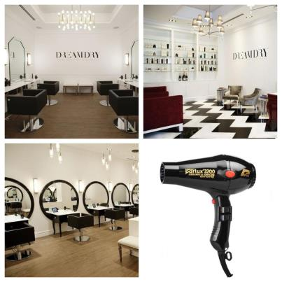 Parlux Compact 2300 Hairdryer used in Rachel Zoe's DreamDry Salon in New York