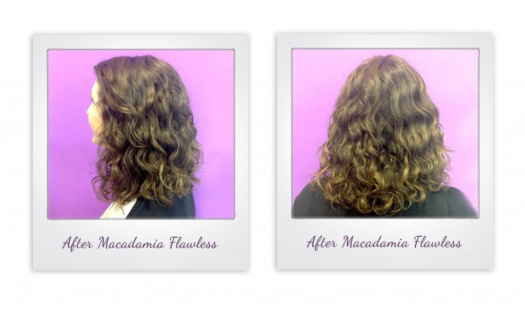 Macadamia Natural Oil Flawless from i-glamour.com - the end result