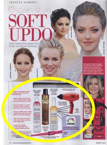 Parlux, BaBylissPRO, Not Your Mothers, Silver Bullet and Hair FX seen in OK! from i-glamour.com