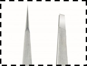 Tweezerman Tweezers - Hand Filed Tips