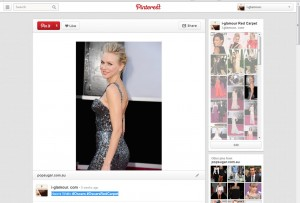 Naomi Watts @ the Oscars via i-glamour's Pinterest Page