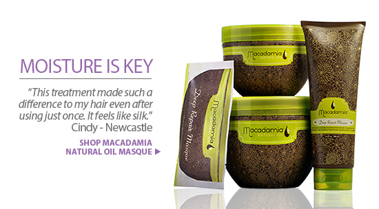 For curls, Macadamia Natural Oil Hair Masque