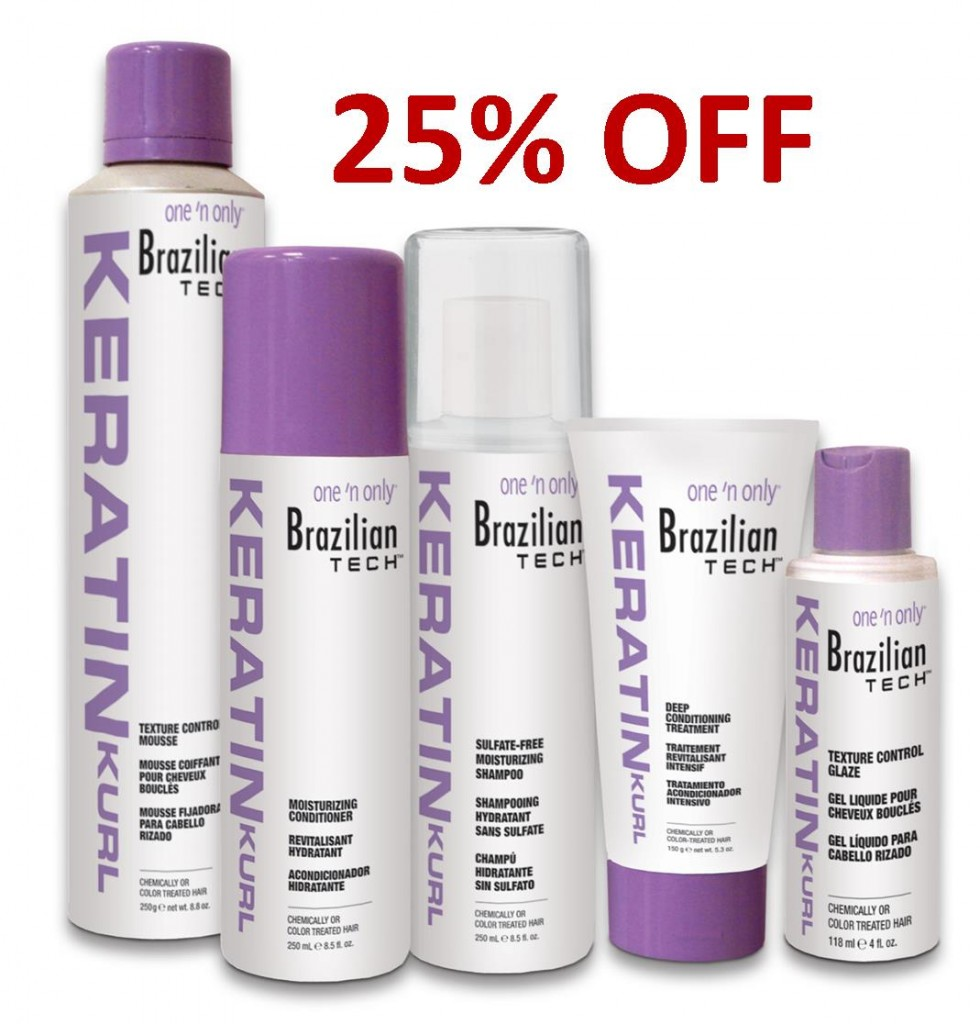 Brazilian Tech Keratin Kurl Hair Care