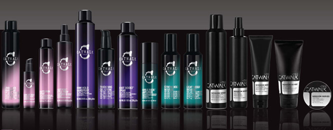 TIGI Catwalk: Strut the Catwalk with TIGI hair care