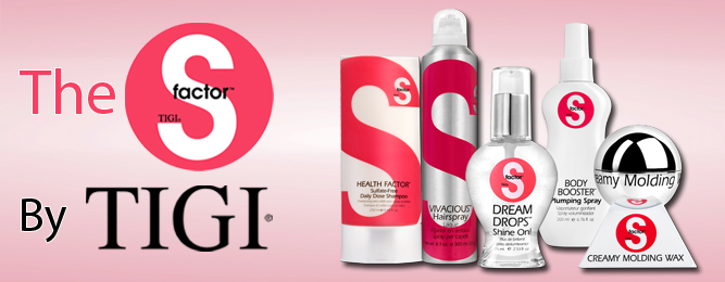 TIGI S Factor Hair Care: Why You Need the S Factor!