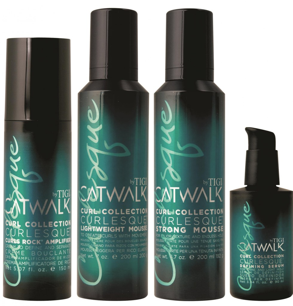 IGI Catwalk Curlesque Hairstyling Products from i-glamour.com