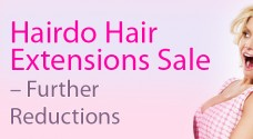 Hairdo Hair Extensions Sale - further reductions