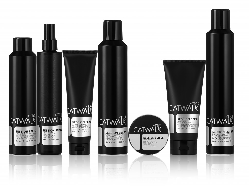TIGI Catwalk Session Series Styling Products