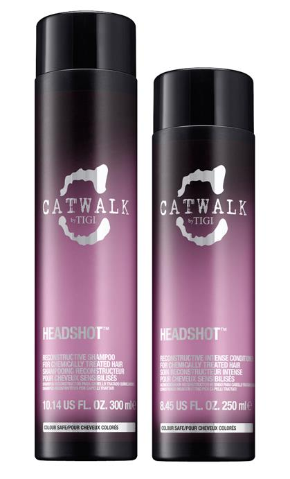 TIGI Catwalk Headshot Reconstructive Shampoo and Conditioner